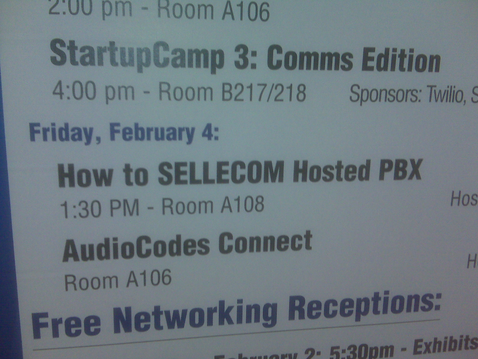 SELLECOM at ITEXPO Miami 2011